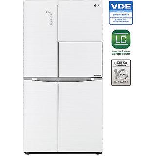 LG 675 L GC-C247UGUV Side In Side SidsE Side Refrigerator...