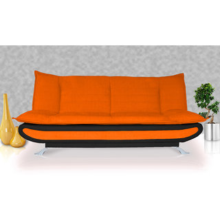 Buy Elite Adorn Homez 3 Seater Sofa Bed Fabric Leather