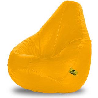Adorn Homez XL Bean Bag-Yellow