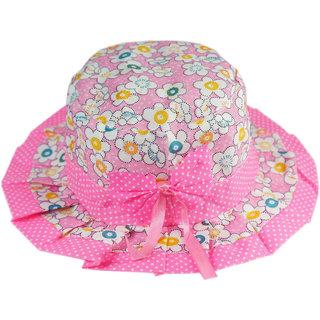 Buy kidz pink printed summer hat Online - Get 30% Off 1a73eff36a8