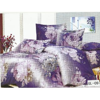 Looms Of India Blue Bedsheet (BC-6044)