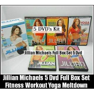 Jillian Michaels 5 Dvd Box Set