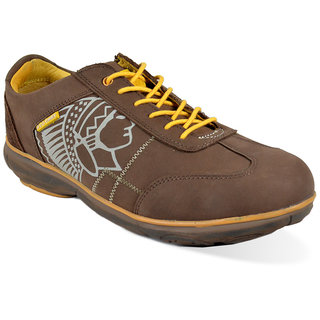 RED CHIEF Leather Brown Casual Shoes for Men