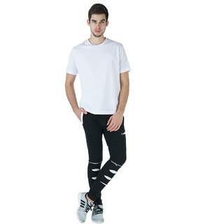Trendyz mens cotton trackpant in cut fut pattern