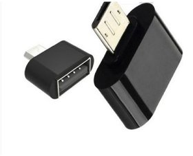 Vin Pack of 2 Micro USB OTG Adaptor - (Assorted Colors)