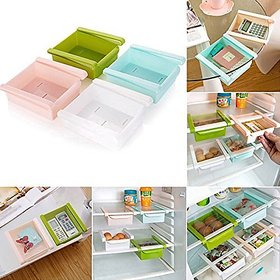 Kudos 4 Pcs Sliding Organizer Rack for Storage Cabinet Box (Set of 4)