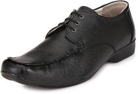 AFM Black Formal Leather Shoes For Men
