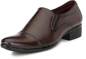 AFM Brown Formal Shoes For Men