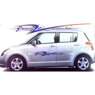 Set Car Graphics Side Decal Body Sticker For UNIVERSAL CARS - Graphics for the side of a car