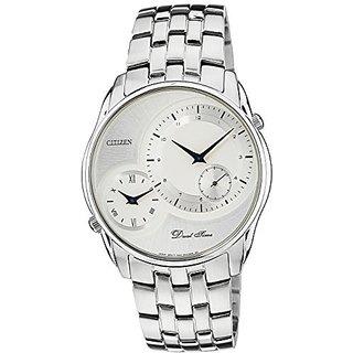 Citizen Analog White Round Watch -AO3005-56B