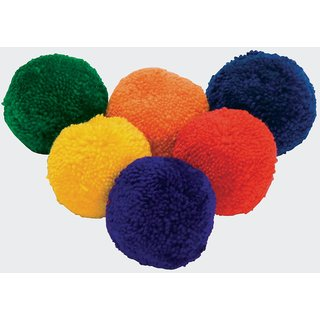 NAVEX BADMINTON WOOLEN BALL 12 PCS