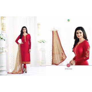 Women's Cotton Silk Salwar Suit