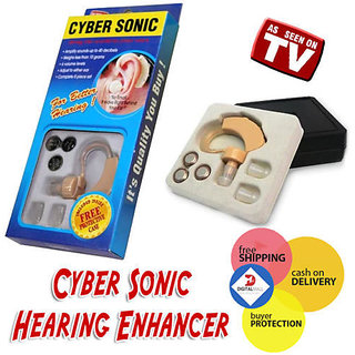 Buy Cyber Sonic Hearing Aid Sound Amplifier For Better