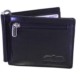 arpera Genuine leather mens money clip C11476-1