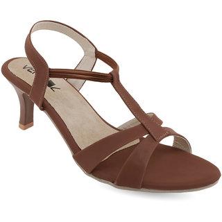 Vendoz Women's Brown Heels