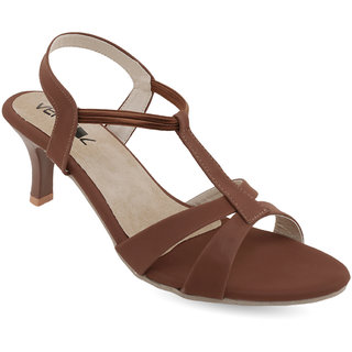 Vendoz Women's Brown Heels