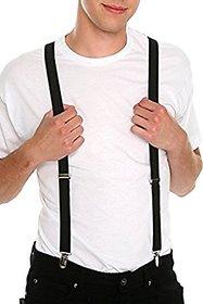Fashion Trend Black Suspender For Men