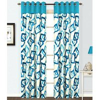 ILiv Sky Square Curtain ( Set Of 2 ) - 9Ft