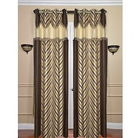 ILiv Brown V Dl Curtain ( Set Of 2 ) - 9Ft