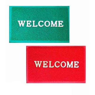iLiv Red Green Welcome Mat Set Of 2