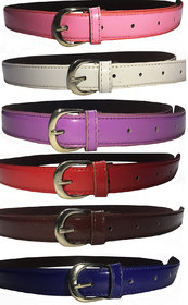 Combo Of 6 Women Belts Best Quality