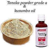 k.professionals Thanaka powder 30 gm  Kusumba oil 30ml  for hair removal