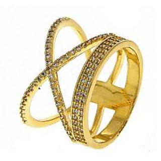 Anuradha Art Golden Finish Designer Classy Wonderful Finger Ring For Women,Girls