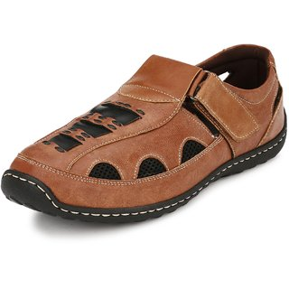 Peponi Men'S Padded Comfortable Daily Wear Sandals
