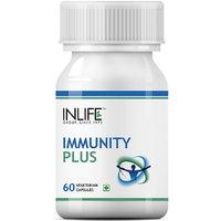INLIFE Immunity Plus Supplement (60 Veg. Capsules)