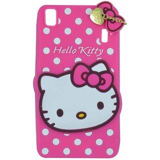 info for b8d73 e645c Cantra Hello Kitty 3D Designer Back Cover For Lenovo A7000 Lenovo K3 Note -  Pink