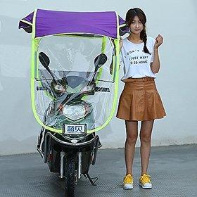 Unique Cartz Universal Scooter / Bike Umbrella all seasons polyester rainy summer For all 2 Wheeler Random Colors