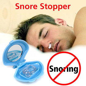 UniqueStores Bio Magnetic Anti Snoring Nose Clips Device