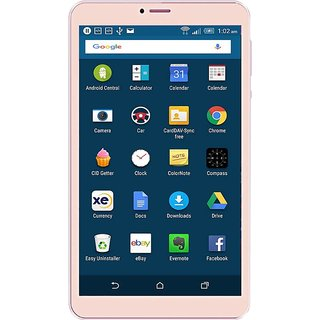 IKall N1 (8Inch,2GB RAM, 16GB Internal ) with Wi-Fi+4G Calling Tablet (Golden)