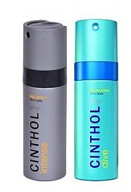 Cinthol Deo Spray -  Combo Set of 2 Deodrant Combo fo 150Ml Each
