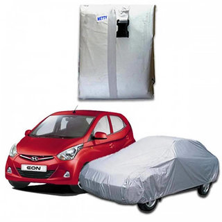 Car body cover for Hyundai Eon - Silver Colour