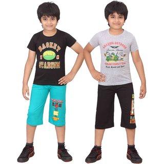 Dongli Kids Nightwear (Boys Multicolor)