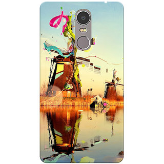 Lenovo K6 Note Marine Scene Printed Designer Back Cover By Prints Ways
