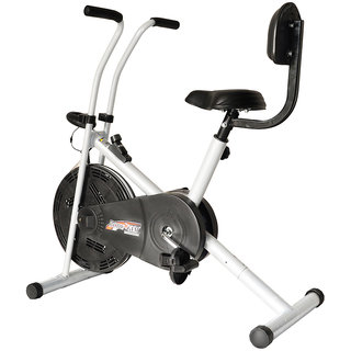 KS Healthcare Air Bike Exercise Cycle BGA-1001 With Back Rest, Exercise Bike