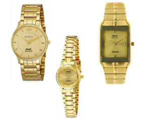 Mark Regal Combo of 3 Mens and Women Watches