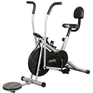 KS Healthcare Air Bike Exercise Cycle BGA-2001 With Back  Twister, Exercise Bike