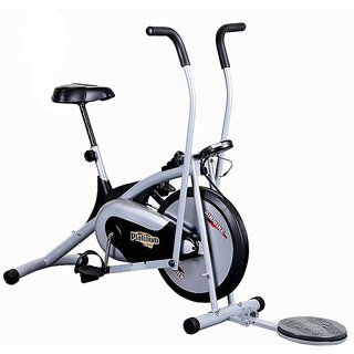KS Healthcare Air Bike Platinum DX Exercise Cycle With Twister, Exercise Bike