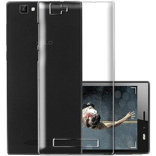 Xolo Black 1X Transparent Soft Back Cover