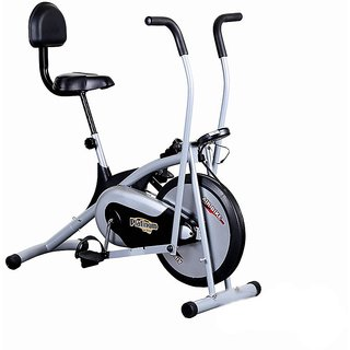 KS Healthcare Air Bike Platinum DX Exercise Cycle With Back, Exercise Bike