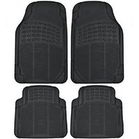 Car Foot Mat- Universal Size Black Washable By Car Vogue