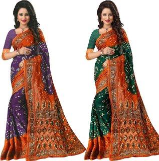 Mastani Designer Cotton Silk Saree For Womens