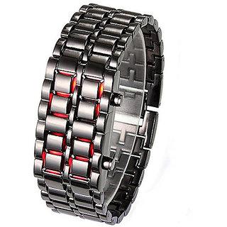 black led watches