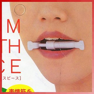 Slimming mouth piece for Face and Cheeks shaping and fats burning.