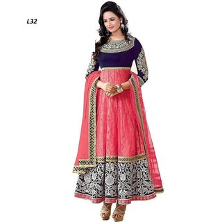 Mahi Pink Anarkali Suit By Harrow Villa