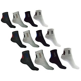 a3fae093b91 Mens Sportwear Ankle Length Sock of (Pack 6 Pairs)