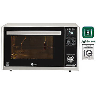 Lg Mj3286Sfu 32 Litre Convection Black  Silver